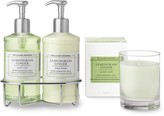 Williams-Sonoma Williams Sonoma Lemongrass Ginger Hand Soap & Lotion, Deluxe 6-Piece Set