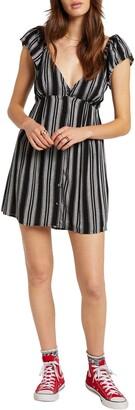 Volcom Sunrise Stripe Minidress