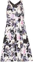 Dorothy Perkins Petite Floral Print Cross Back Prom Dress