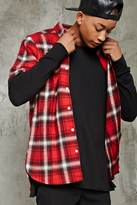 Forever 21 Slim-Fit Flannel Shirt