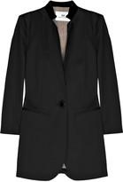 Silk-trimmed tuxedo jacket