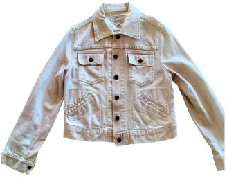 Current/Elliott Current Elliott Pink Cotton Jacket for Women