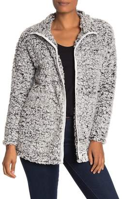 Cotton Emporium Fleece Teddy Cardigan