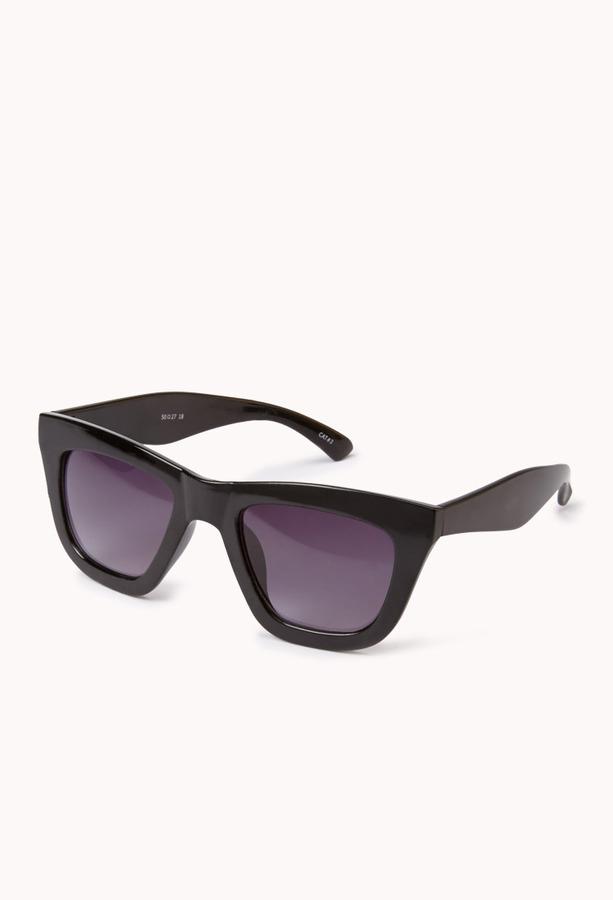 Forever 21 F7595 Retro Square Sunglasses