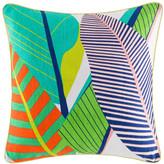 Kas Tropical Multi Bright Square Cushion Cover