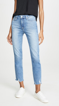 Paige Cindy Jeans With Destroyed Hem