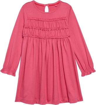 Boden Mini Everyday Ruffle Long Sleeve Dress