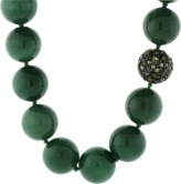 Yossi Harari Libra Green Agate Necklace