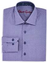 Robert Graham Boys' Dotted Dress Shirt - Big Kid