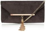 Lipsy Reptile Tassel Clutch Bag