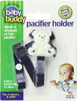 Baby Buddy Bear Pacifier Holder 2ct for 0-36 months (Navy /Blue)