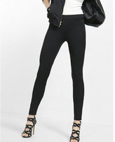Express mid rise pull-on riding legging