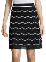 M Missoni Zigzag Striped Skirt