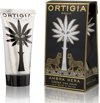 Ortigia Hand Cream - 80ml - Ambra Nera