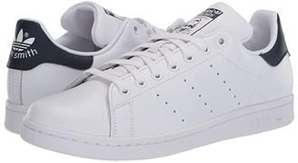 adidas Stan Smith (Footwear White/Footwear White/Collegiate Navy) Women's Tennis Shoes