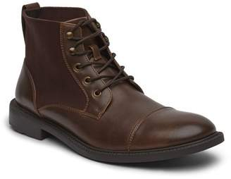 Kenneth Cole Unlisted, A Production Lace-Up Roll Boot