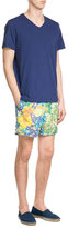 Etro Printed Swim Trunks