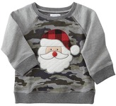 Mud Pie Camo Santa Sweatshirt Boy's Sweatshirt