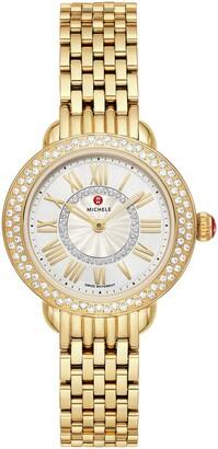 Michele Serein Diamond Watch Head & Bracelet, 29mm