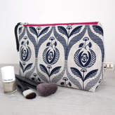 Lulu & Luca Art Deco Rose Print Make Up Bag