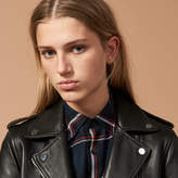 Sandro Short Leather jacket
