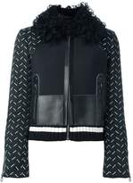Versace stitched sleeve jacket