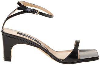 Sergio Rossi Sandal Sr1 In Black Leather