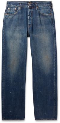 Chimala Wide-Leg Selvedge Denim Jeans