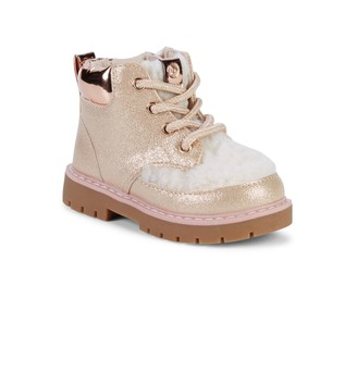 Sole Play Baby Girl's, Little Girl's & Girl's Faux Fur-Trim Boots