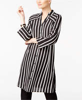 Alfani Striped Tunic Shirt, Only at Macy's
