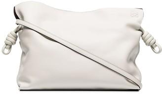 Loewe x Browns 50 Flamenco leather clutch bag