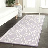 "Safavieh Cambridge Collection CAM131C Handmade and Ivory Wool Runner, 2 feet 6 inches by 8 feet (2'6"" x 8')"