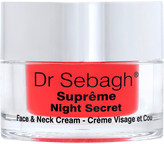 Dr Sebagh SuprÃame Night Secret face & neck cream