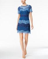 Jessica Howard Lace Stripe Dress