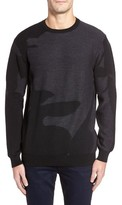 Bugatchi Men's Merino Wool Crewneck Sweater