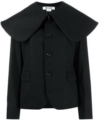 Comme des Garcons oversized collar coat