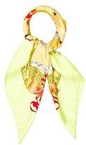 Hermes Musée Vivant de Cheval Chantilly Silk Scarf