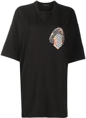 Undercover pop art-print oversized T-shirt