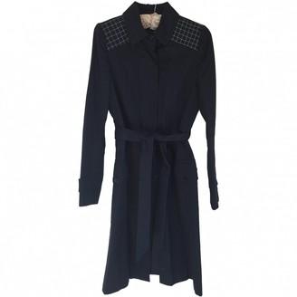Paul & Joe Navy Cotton Coat for Women