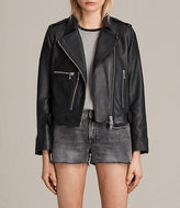 AllSaints Milne Leather Biker Jacket