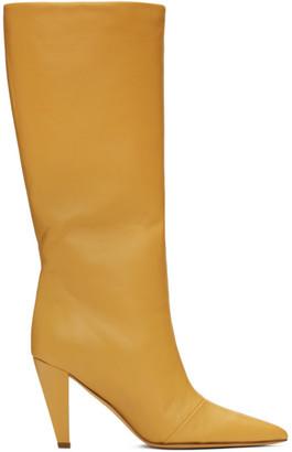 Maryam Nassir Zadeh Yellow Kline Boots