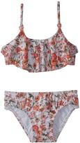 Seafolly Toddler Girl's Wild Poppy Tankini Set (27) - 8158934