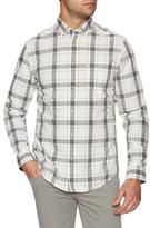Ben Sherman Plaid Long Sleeve Sportshirt
