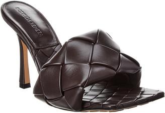 Bottega Veneta Lido Intrecciato Leather Mule