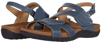 Rockport Ridge Asymmetrical Strap (Black) Women's Sandals
