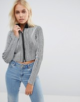 Glamorous High Neck Top