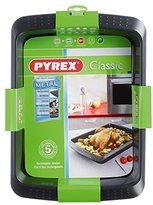 Pyrex 40 x 30 cm Classic Rectangular Carbon Steel Non-Stick Metal Roaster