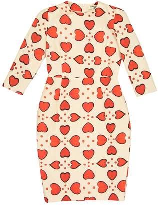 Tata-Naka Tata Naka Beige Silk Dress for Women