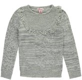 "Pink Angel Big Girls' ""Rounded Fringe"" Sweater"