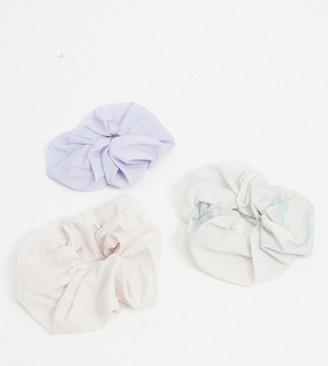 Weekday opal 3 pack scrunchies in multi